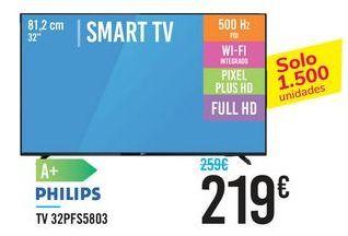 Oferta de TV 32PFS5803 PHILIPS por 219€