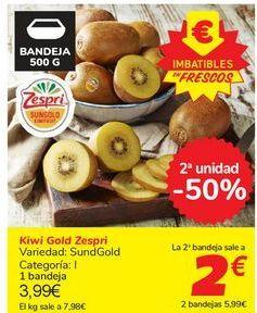 Oferta de Kiwi Gold Zespri por 3,99€