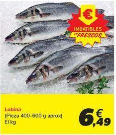 Oferta de Lubina por 6,49€