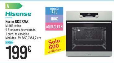 Oferta de Horno BI3222AX Hisense por 199€