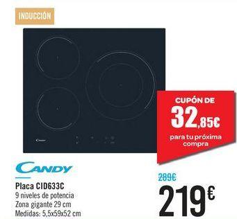 Oferta de Placa CID633C Candy  por 219€