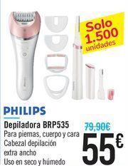 Oferta de Depiladora BRP535 PHILIPS por 55€