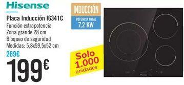 Oferta de Placa inducción I6341C Hisense  por 199€