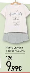 Oferta de Pijama algodón  por 9,99€