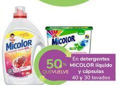 Oferta de En detergentes MICOLOR líquido y cápsulas por