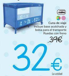 Oferta de Cuna de viaje Asalvo  por 32€