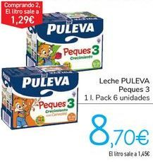 Oferta de Leche PUILEVA Peques 3  por 8,7€