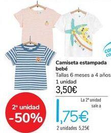 Oferta de Camiseta estampada bebé  por 3,5€