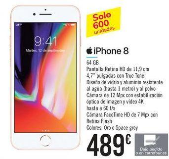 Oferta de IPhone 8 Apple por 489€