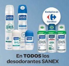 Oferta de En TODOS los desodorantes SANEX  por