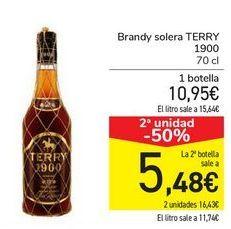 Oferta de Brandy solare TERRY 1900  por 10,95€