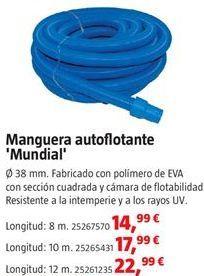 Oferta de Manguera flotante por 14,99€