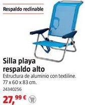 Oferta de Silla de playa por 27,99€