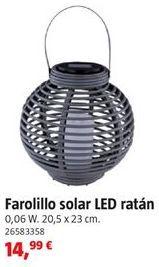 Oferta de Farolillo solar por 14,99€