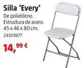 Oferta de Silla plegable por 14,99€