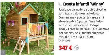 Oferta de Caseta de jardín por 347€