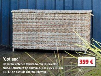 Oferta de Baúl de jardín por 359€