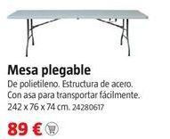 Oferta de Mesa plegable por 89€