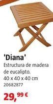 Oferta de Mesa de madera por 29,99€