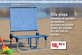 Oferta de Silla de playa por 18,99€