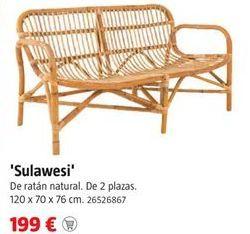 Oferta de Sofá de jardín por 199€
