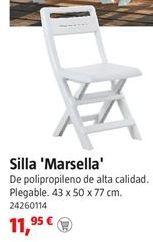 Oferta de Silla plegable por 11,95€