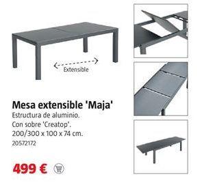 Oferta de Mesa extensible por 499€