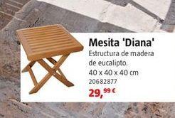 Oferta de Mesa auxiliar por 29,99€