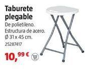 Oferta de Taburete plegable por 10,99€