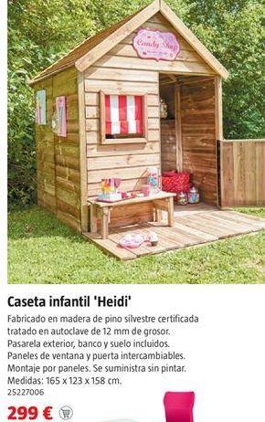 Oferta de Caseta de madera por 299€