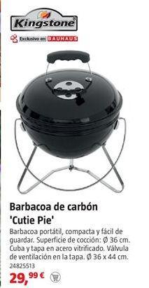 Oferta de Barbacoas Kingston por 29,99€
