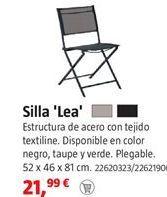 Oferta de Silla plegable por 21,99€