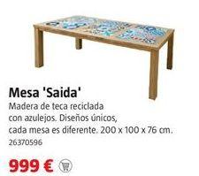 Oferta de Mesa de madera por 999€