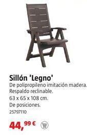 Oferta de Sillones por 44,99€