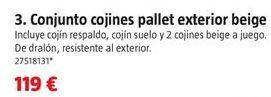Oferta de Cojines por 119€