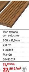 Oferta de Tarima por 27,56€