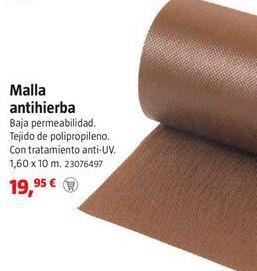 Oferta de Malla antihierbas por 19,95€