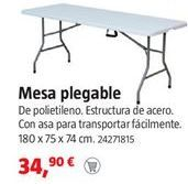 Oferta de Mesa plegable por 34,9€