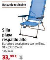 Oferta de Silla de playa por 33,99€