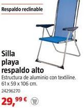 Oferta de Silla de playa por 29,99€