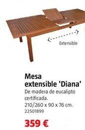 Oferta de Mesa extensible por 359€