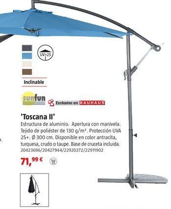 Oferta de Parasol por 71,99€