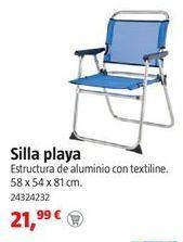 Oferta de Silla de playa por 21,99€