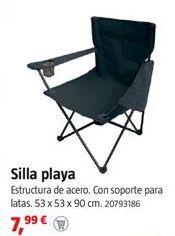 Oferta de Silla de playa por 7,99€