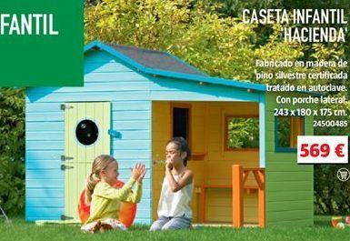 Oferta de Caseta de madera por 569€