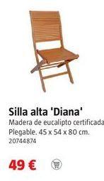 Oferta de Silla plegable por 49€