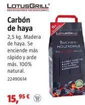 Oferta de Carbón por 15,95€