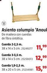 Oferta de Columpio por 11,99€