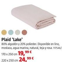 Oferta de Plaid por 19,99€