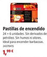 Oferta de Pastillas de encendido por 1,99€